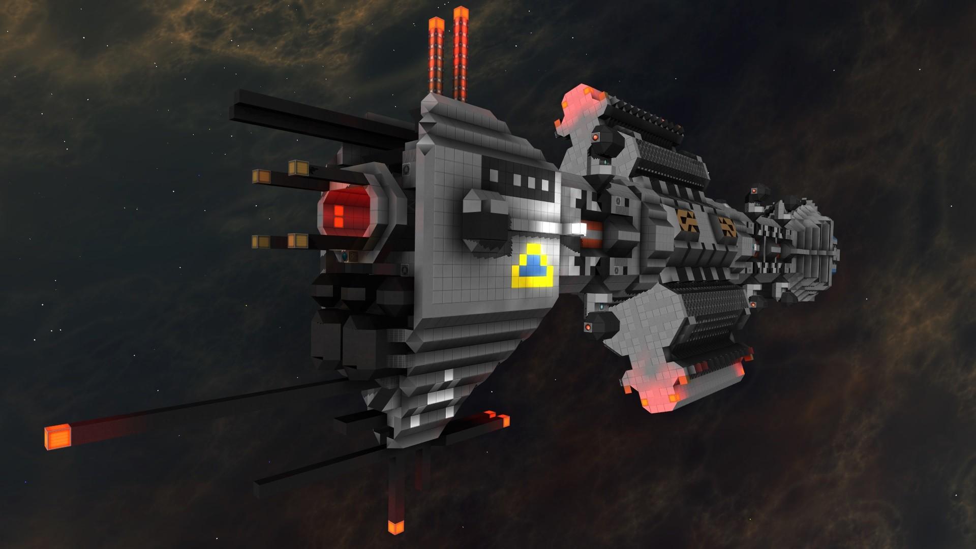Babylon 5 Omega Destroyer | StarMade Dock on deep space 9 schematics, robotech schematics, andromeda ships schematics, stargate schematics, star trek space station schematics,