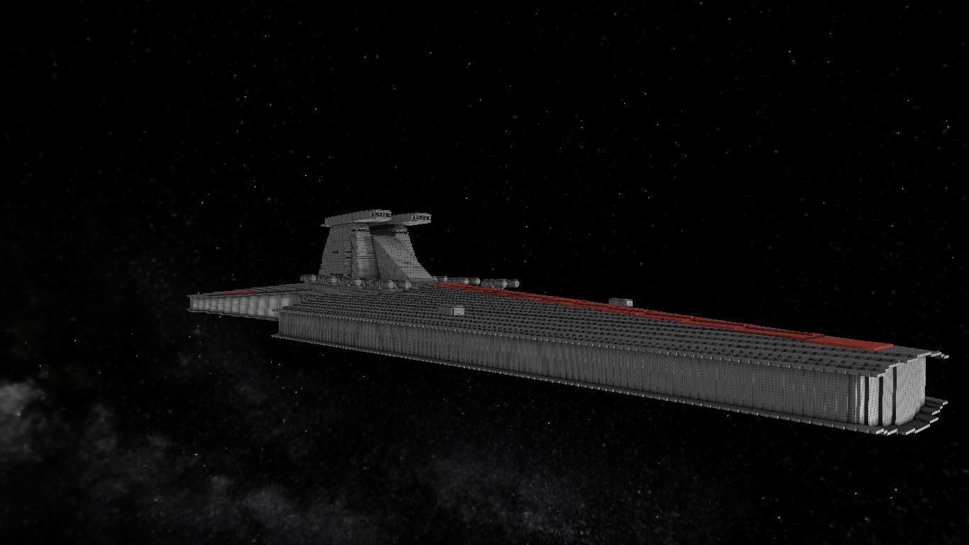 Venator Class Star Destroyer   StarMade Dock