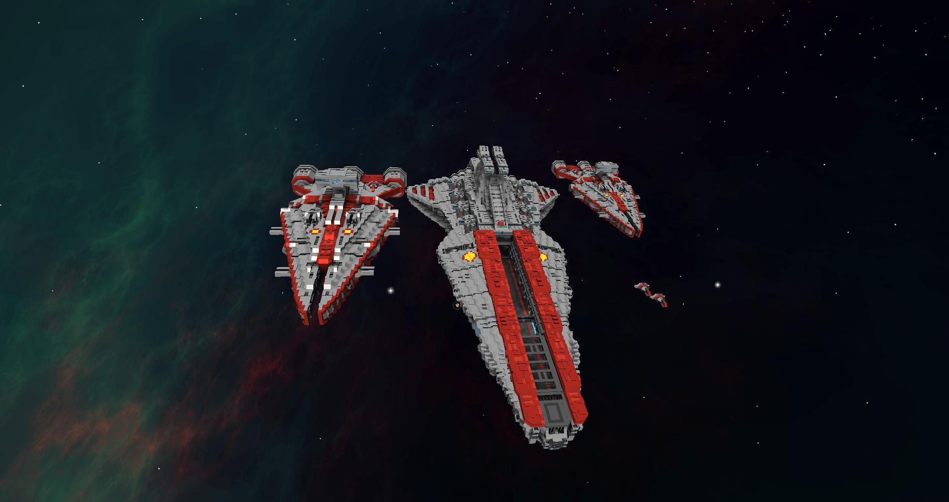 Star Wars Arquitens Class Light Cruiser Starmade Dock