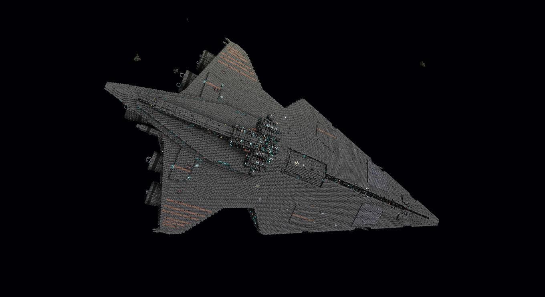 Fafner class stardestroyer W I P StarMade Dock