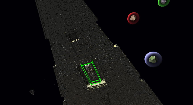 1:1 Imperial star destroyer StarMade Dock