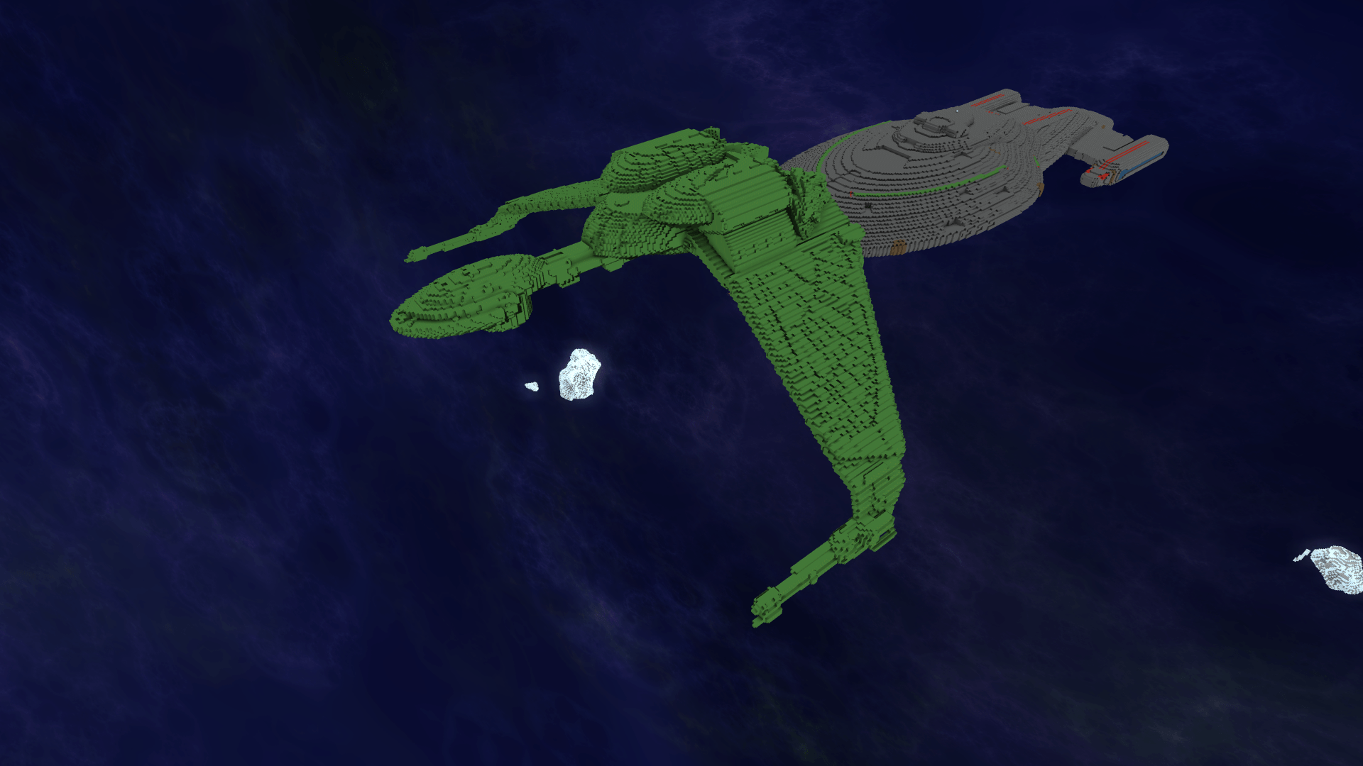 Klingon Bird Of Prey Hull Starmade Dock