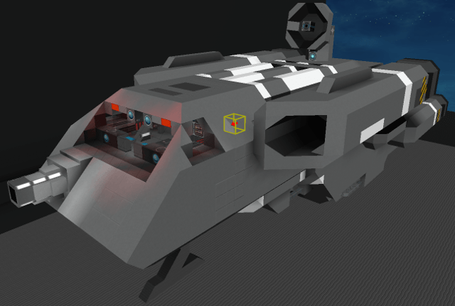 Wing Commander Tarsus Light Freighter Starmade Dock