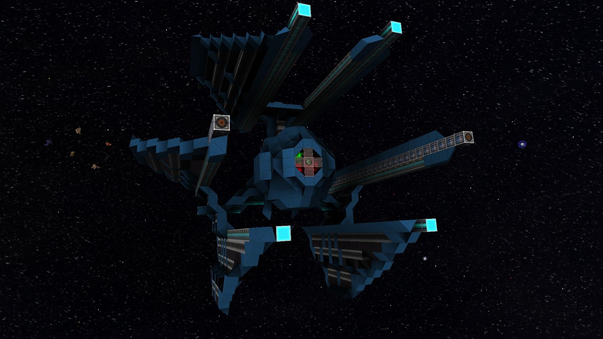 Tie Defender Starmade Dock