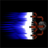 Larger Thruster Plumes
